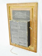 Rare Antique Religious Artwork Display Cabinet with Scrolling Mechanism  image 9