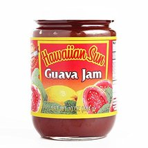 Hawaiian Sun Guava Jam 10 oz each (3 Items Per Order, not per case) - $49.49