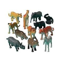 Amscan Party Favors 12/Pkg, Jungle Animals  - $15.63