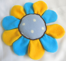 Decoration Throw Pillow Handmade - Flower Fleece Cushion  - Nursery - Home - $15.00