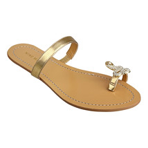 Nine West Sunset Gold Sandals Size 10 1/2 - $21.78