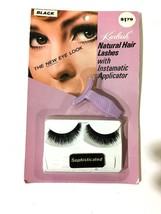 Vtg 1960s Kurlash Natural Hair Lashes Instamatic Applicator Black Human ... - $23.19