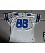VINTAGE Michael Irvin 88 Pro Cut Screen Wilson Dallas Cowboys Home NFL J... - $49.49