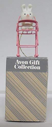 Avon Spring Bunny Collection BUNNY IN HIGH CHAIR - $11.75