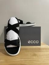 ECCO Flowt Elastic Sandal Black  - $45.00