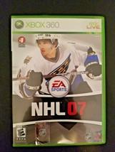 NHL 07 (Microsoft Xbox 360, 2006)  - $3.91