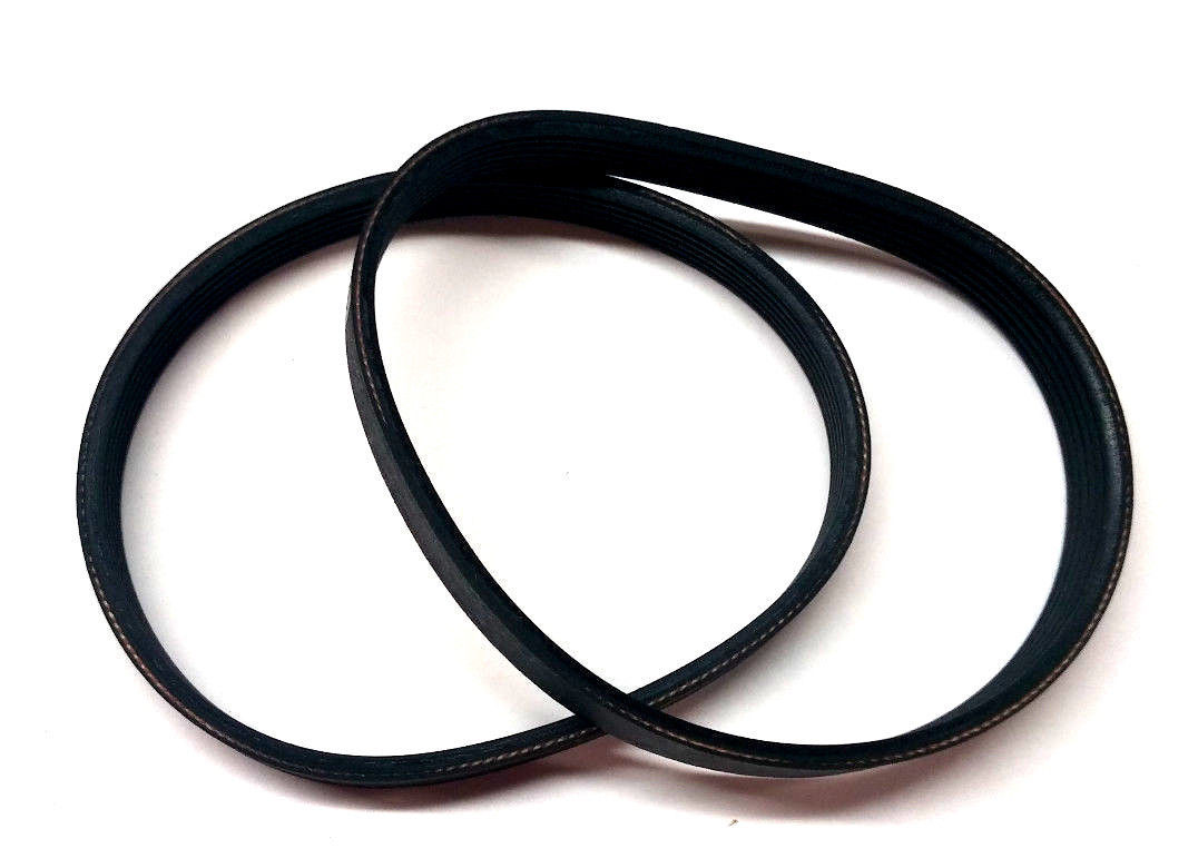 "Primary image for 2 Replacement Belts Delta 22-540 12"" Planer Type 1&2 drive belt 22-546 135J6"