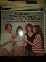 JANE FONDA'S WORKOUT RECORD FOR PREGENANCY,BIRTH AND RECOVERY* VINYL 2 R... - $12.45