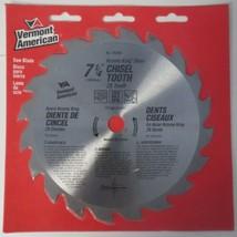 "Vermont American 25250 Krome King Steel 7-1/4"" Chisel Tooth x 20 Teeth Saw Blade - $3.96"