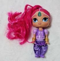 "Shimmer From Shimmer & Shine Fisher Price 6"" Doll Pink Hair Genie Preten... - $17.59"