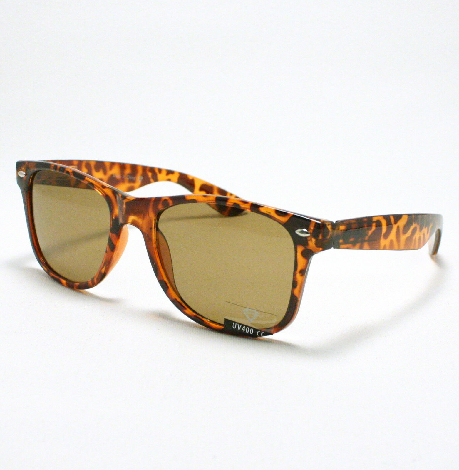 80's Classic Vintage OLD SCHOOL Sunglasses TURTLE SHELL image 2