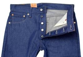 NEW LEVI'S 501 MEN'S ORIGINAL STRAIGHT LEG JEANS BUTTON FLY BLUE 501-1404 image 3