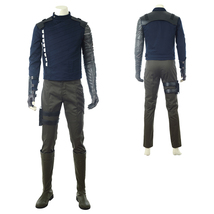 Avengers 3: Infinity War Winter Soldier Bucky Barnes Cosplay Costume - $258.25