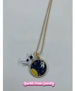 Astronaut Space Necklace - $20.00