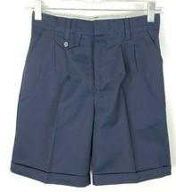Nwt Schule Apparel Marineblau Plissiert Shorts Mädchen Regular 6X 7304 U... - $14.84