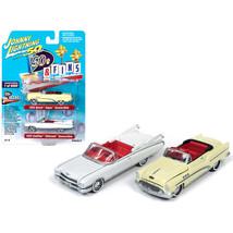 1959 Cadillac Eldorado Convertible White and 1953 Buick Super Convertibl... - $21.90