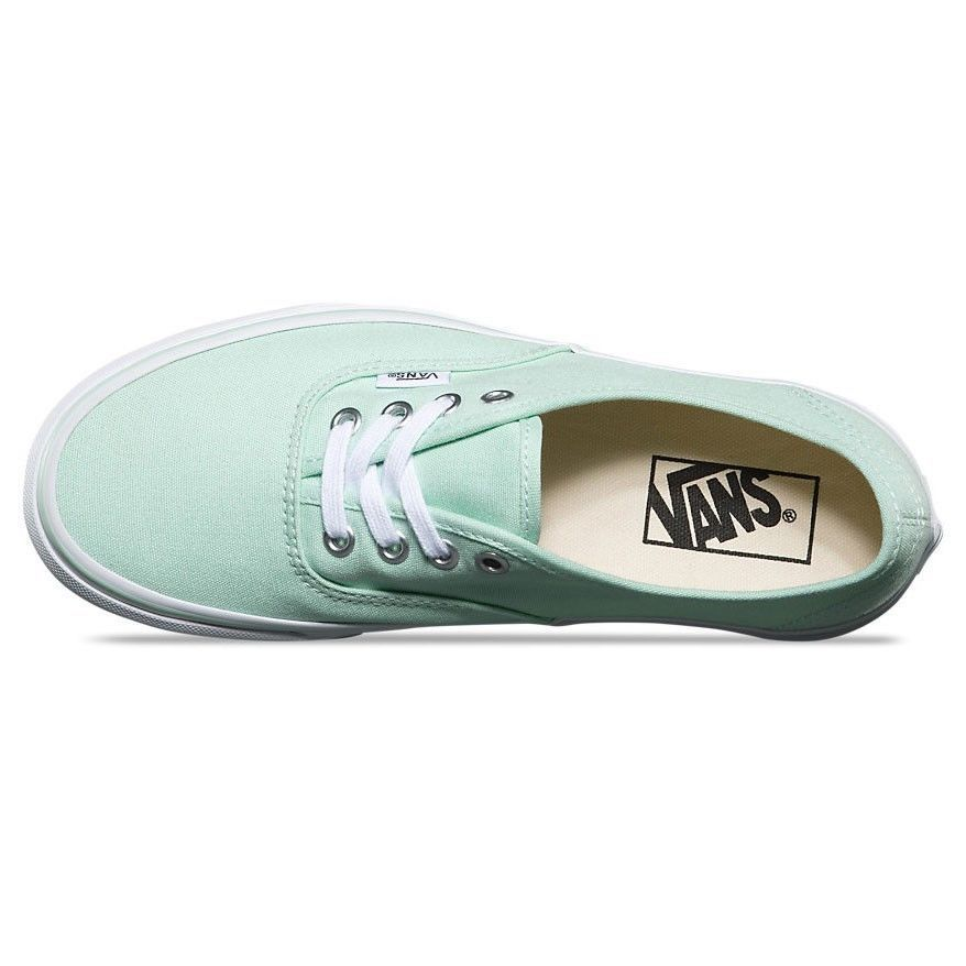 VANS Authentic Bay True White Skate Shoe WOMEN'S Size 6.5
