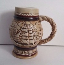 Avon 1982 Tall Ships Vessels Sailboats Boats Mini Beer Stein Ceramarte B... - $8.60