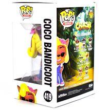 Funko Pop! Games Crash Bandicoot Coco #419 Vinyl Action Figure IN STOCK image 3
