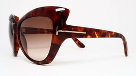 New Tom Ford TF284 52F Brown Authentic Sunglasses 59-17-130 - $106.65