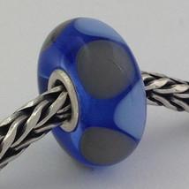 Authentic Trollbeads Ooak Murano Glass Unique Bead Charm #239, 14mm Diameter New - $33.24