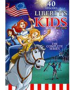Libertys Kids 40+ Episodes (DVD, 2013, 4-Disc) animated historic family ... - $41.58