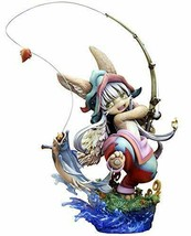Made in Abyss Nanachi Gankimasu fishing PVC pre-painted 230mm Figure - $405.30