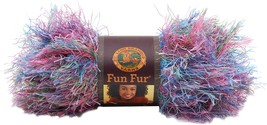 Lion Brand Fun Fur Yarn-Tropical Print - $18.30