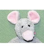 "North American Bear BEEPS Mouse 16"" Plush Gray Pink 2006 Animal SOFT Lov... - $23.38"