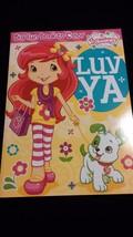 STRAWBERRY SHORTCAKE & Pet - LUV YA - Coloring Activity Book Stocking St... - $6.00