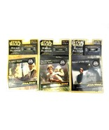 Star Wars Collectible Trilogy Series 24 Page Books and Cassette Tape Set... - $37.39