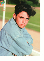 Mike Vitar Shane Mcdermott teen magazine pinup clipping standing by a fence Bop