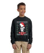 Kids Youth Sweatshirt It's Christmas Bro Team 10 Ugly Xmas Gift - $27.94