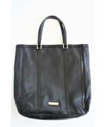 Burberry Black Perforated Leather Tote Shopper Bag  - $190.00