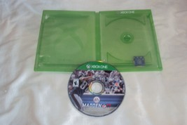 Madden NFL 17 Xbox One Disc Near Mint Case Very Good No Art Work Or Manual - $5.93