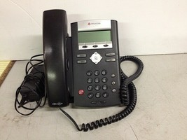 Polycom Soundpoint IP 335 Business Phone With Incomplete Power Supply - $25.00