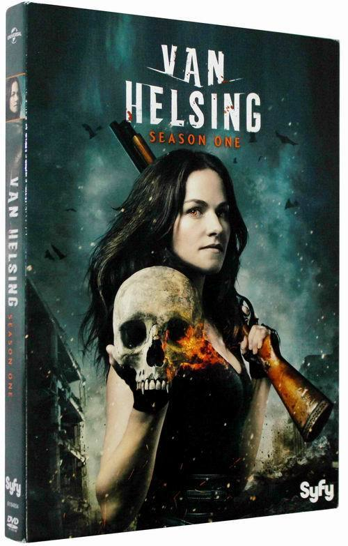 Van Helsing The Complete Season 1 DVD Box Set 4 Disc Free Shipping Brand New