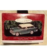 Hallmark 1999 Keepsake Ornament 1955 Chevrolet Nomad Wagon #9 American S... - $10.95