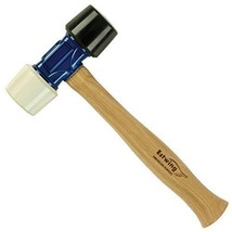 Estwing Rubber Mallet  - 24 oz Double-Face Hammer with Soft/Hard Tips & ... - $26.94