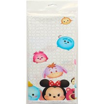 Disneys Tsum Tsum Plastic Table Cover 1 Per Package Birthday Party Supplies NEW - $6.88