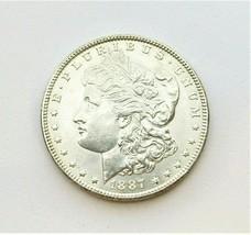 1887 P MORGAN SILVER DOLLAR  (AU)  MS++ #200050 - $64.35