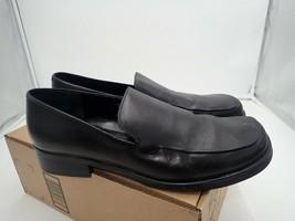 Franco Sarto Women's Bocca leather Loafer, Black, 12 M - $26.60
