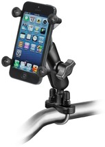 RAM Mount Motorcycle Handlebar Mount w/ X-Grip Cell Phone Holder RAM-B-1... - $49.49