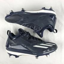 Baseball Cleats Adidas Mens Energy Boost Icon 2 Metal B72824 Navy White ... - $64.34