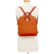 Dooney & Bourke Pebble Pod Zip Backpack Caramel image 4