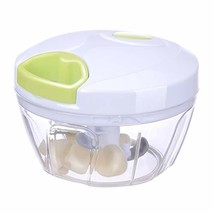 MIGECON Manual Food Chopper Hand-Powered Food Processor with 3 Blades fo... - $11.55