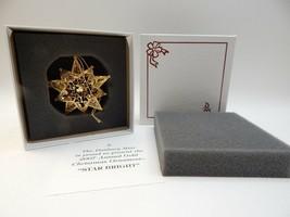 Danbury Mint Annual Star Bright 2007 Gold Christmas Ornament New Condition - $32.66
