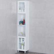 "71"" Organizer Bathroom Tall Tower Storage Cabinet - £161.19 GBP"