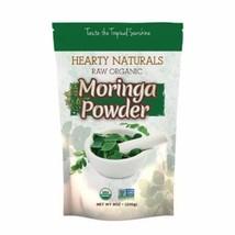 Hearty Naturals Raw Organic Moringa Powder - 226 Grams (8 Oz) - $16.42
