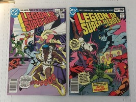Legion Of Super Heroes #263 264 DC Comic Book Lot Of 2 1980 FN Condition - $4.49